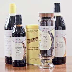 Prova aroma's vanille cacao koffie willy vanilli